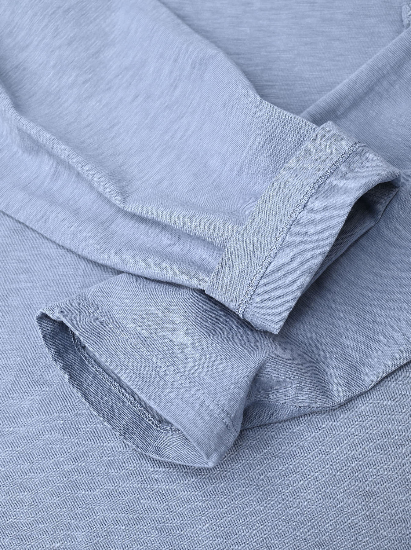Zimbabwe Cotton 908 Ocean Long-sleeved T-shirt-12