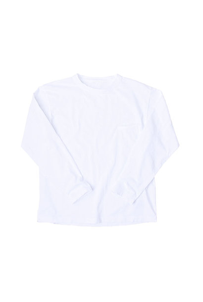 Zimbabwe Cotton 908 Ocean Long-sleeved T-shirt