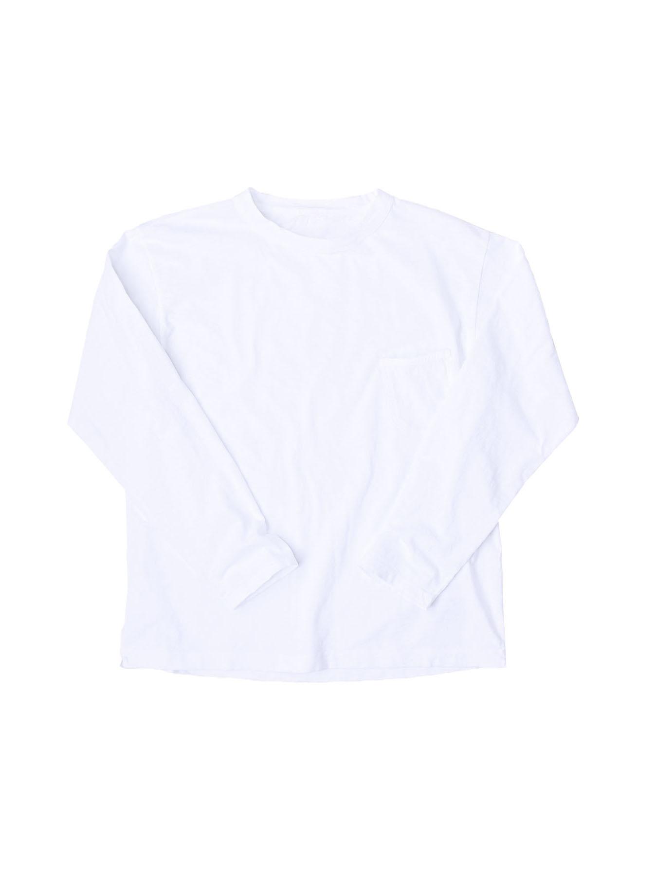 Zimbabwe Cotton 908 Ocean Long-sleeved T-shirt-1