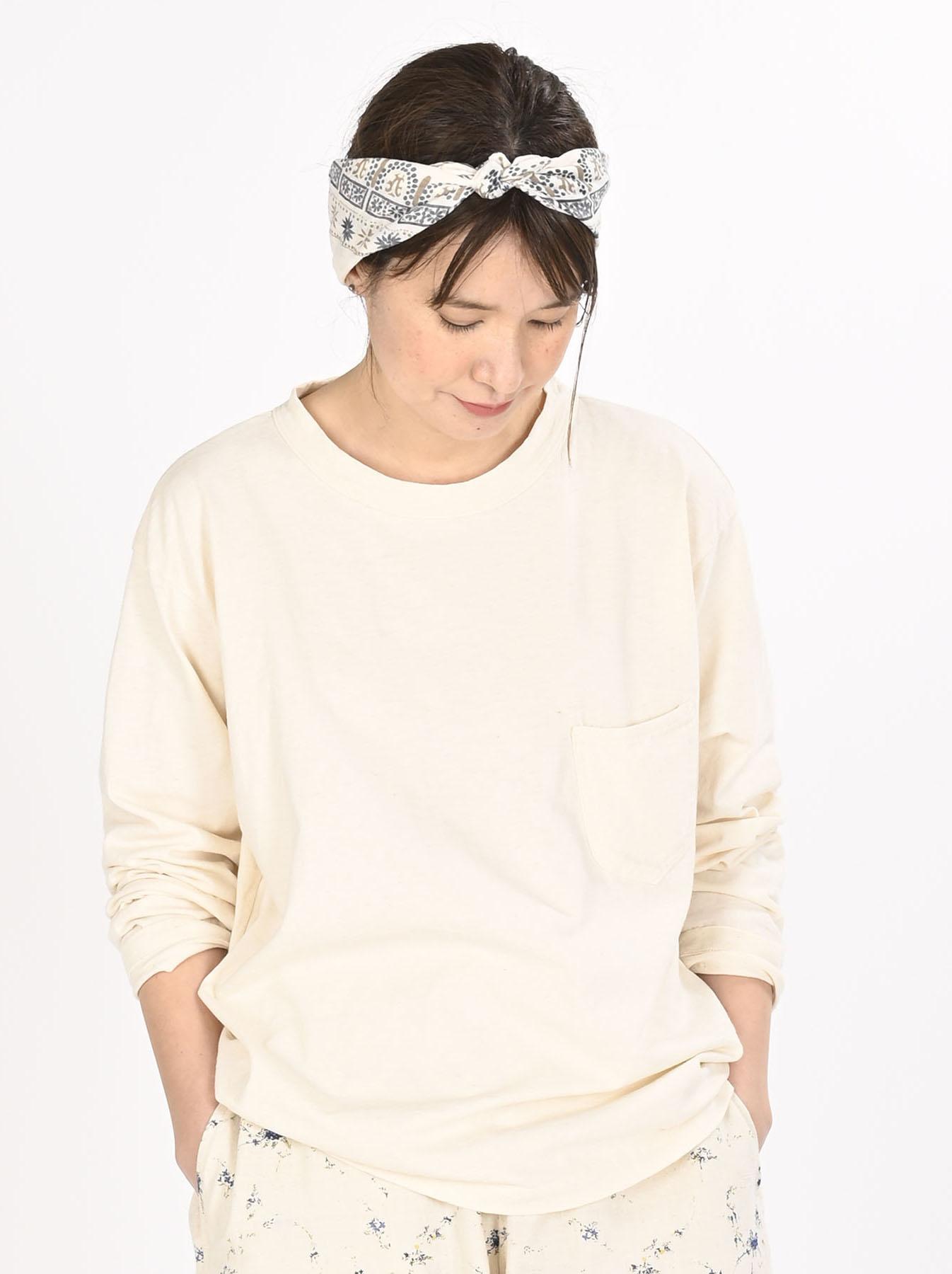 Zimbabwe Cotton 908 Ocean Long-sleeved T-shirt-7