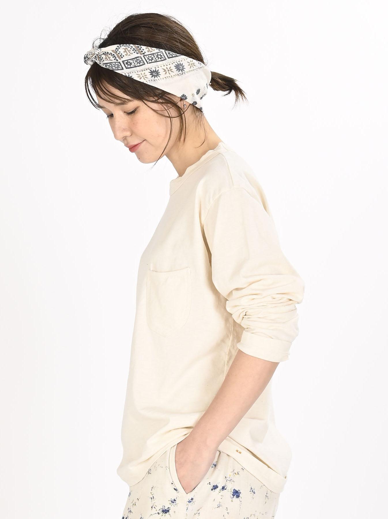 Zimbabwe Cotton 908 Ocean Long-sleeved T-shirt-8