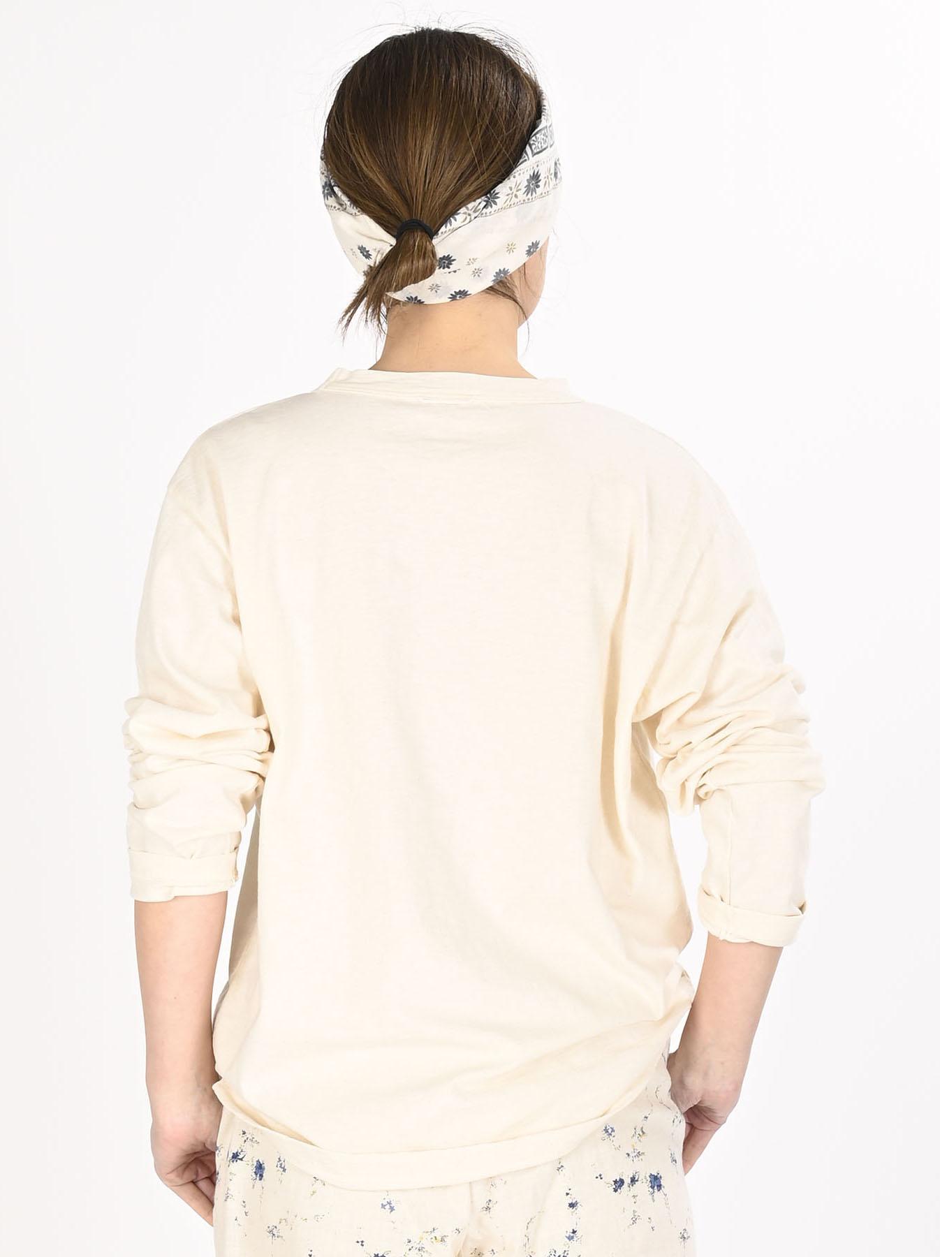 Zimbabwe Cotton 908 Ocean Long-sleeved T-shirt-9