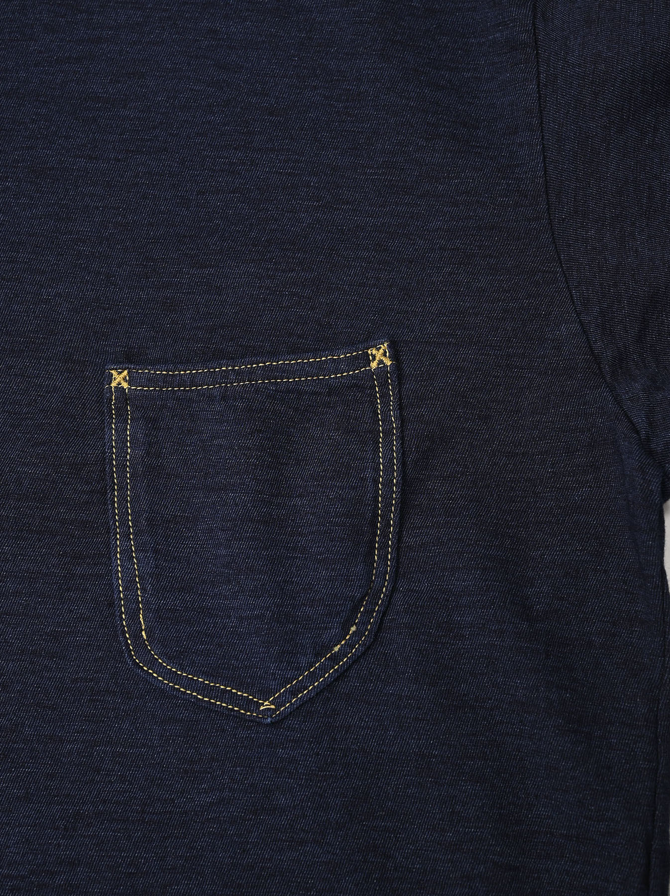 Indigo Zimbabwe 908 Ocean T-shirt-9