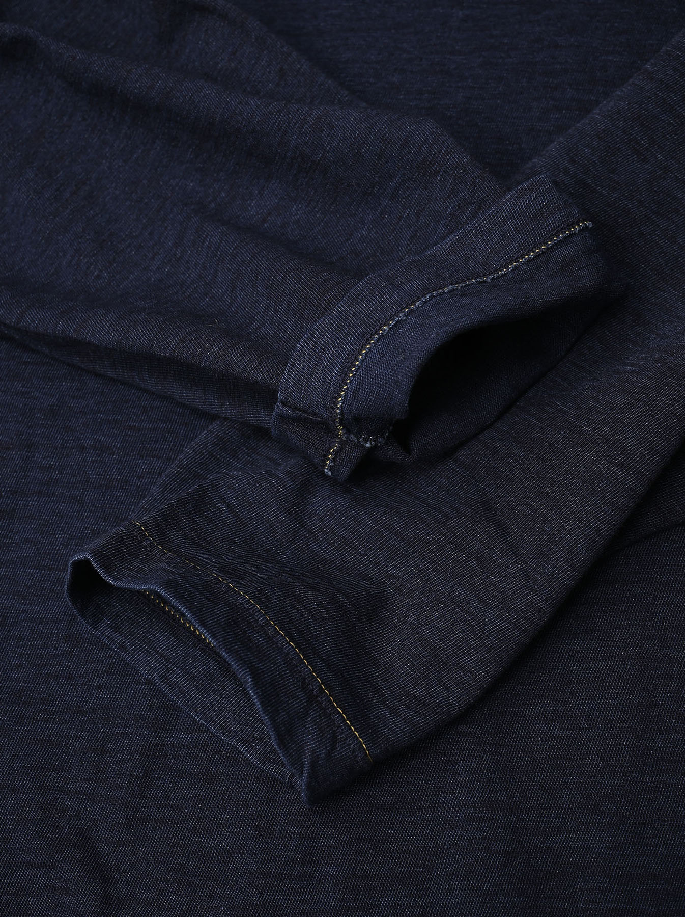Indigo Zimbabwe 908 Ocean T-shirt-10