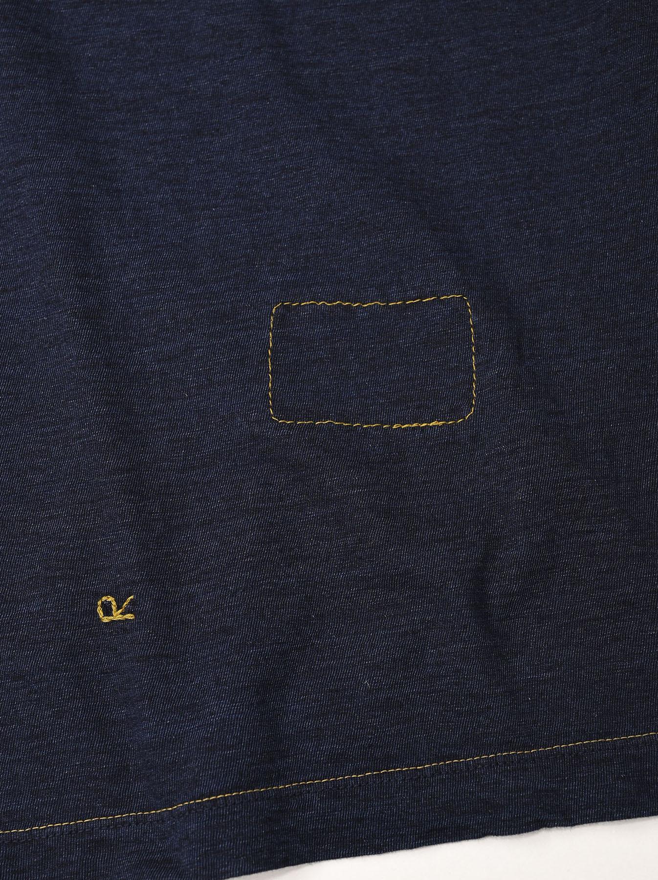 Indigo Zimbabwe 908 Ocean T-shirt-12