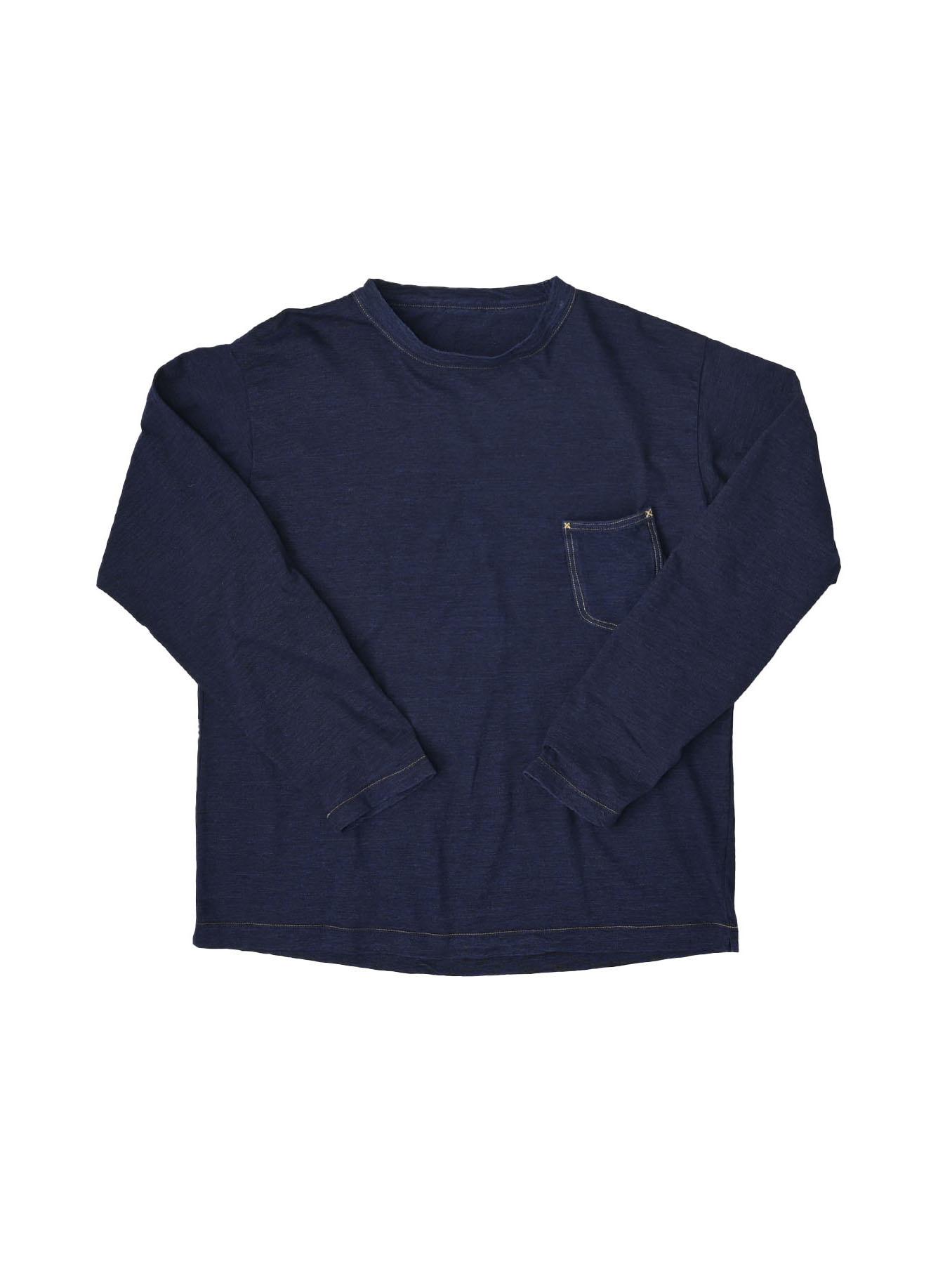 Indigo Zimbabwe 908 Ocean T-shirt-1
