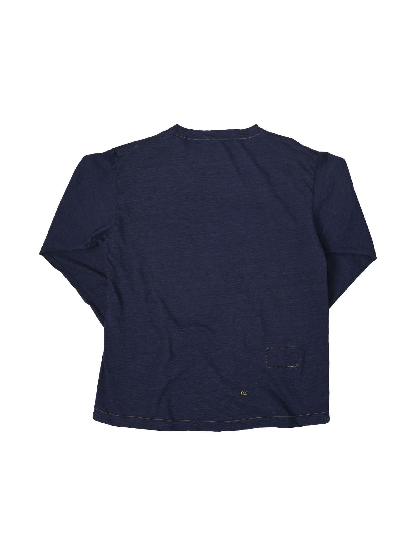 Indigo Zimbabwe 908 Ocean T-shirt-6