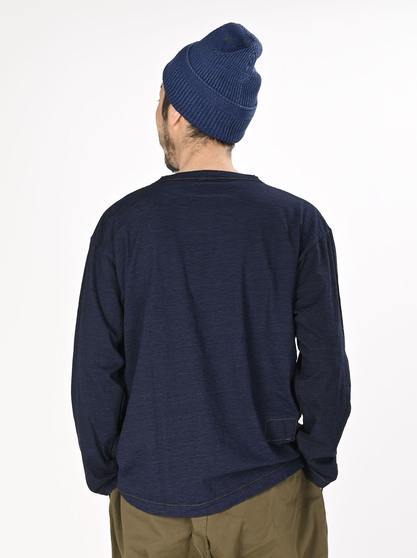 Indigo Zimbabwe 908 Ocean T-shirt-5
