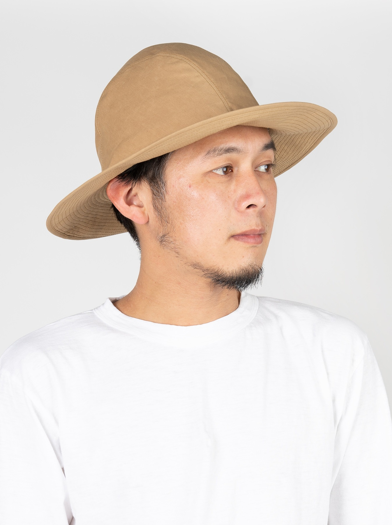 Coated Weather Cloth Hat-4