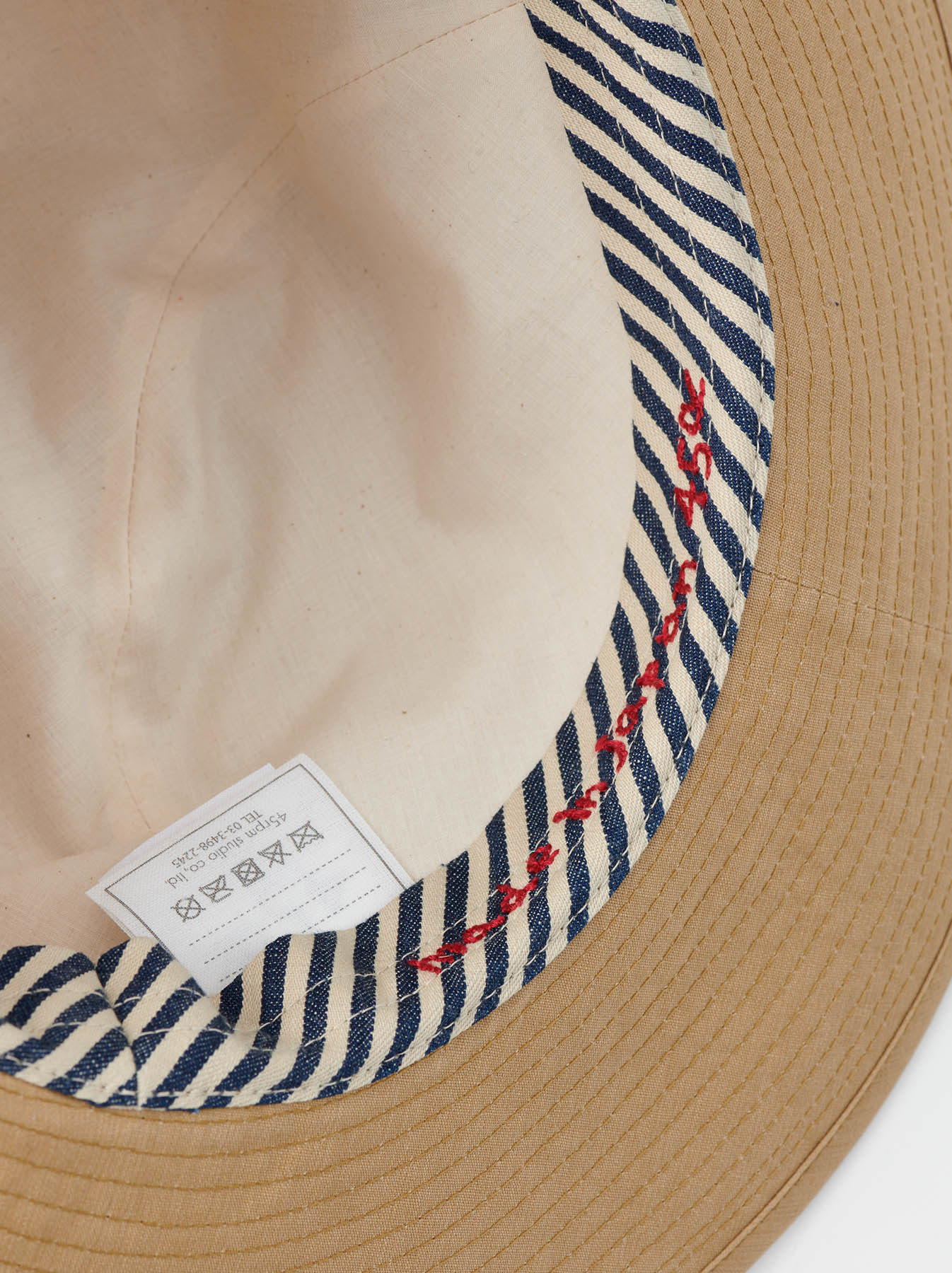 Coated Weather Cloth Hat-5