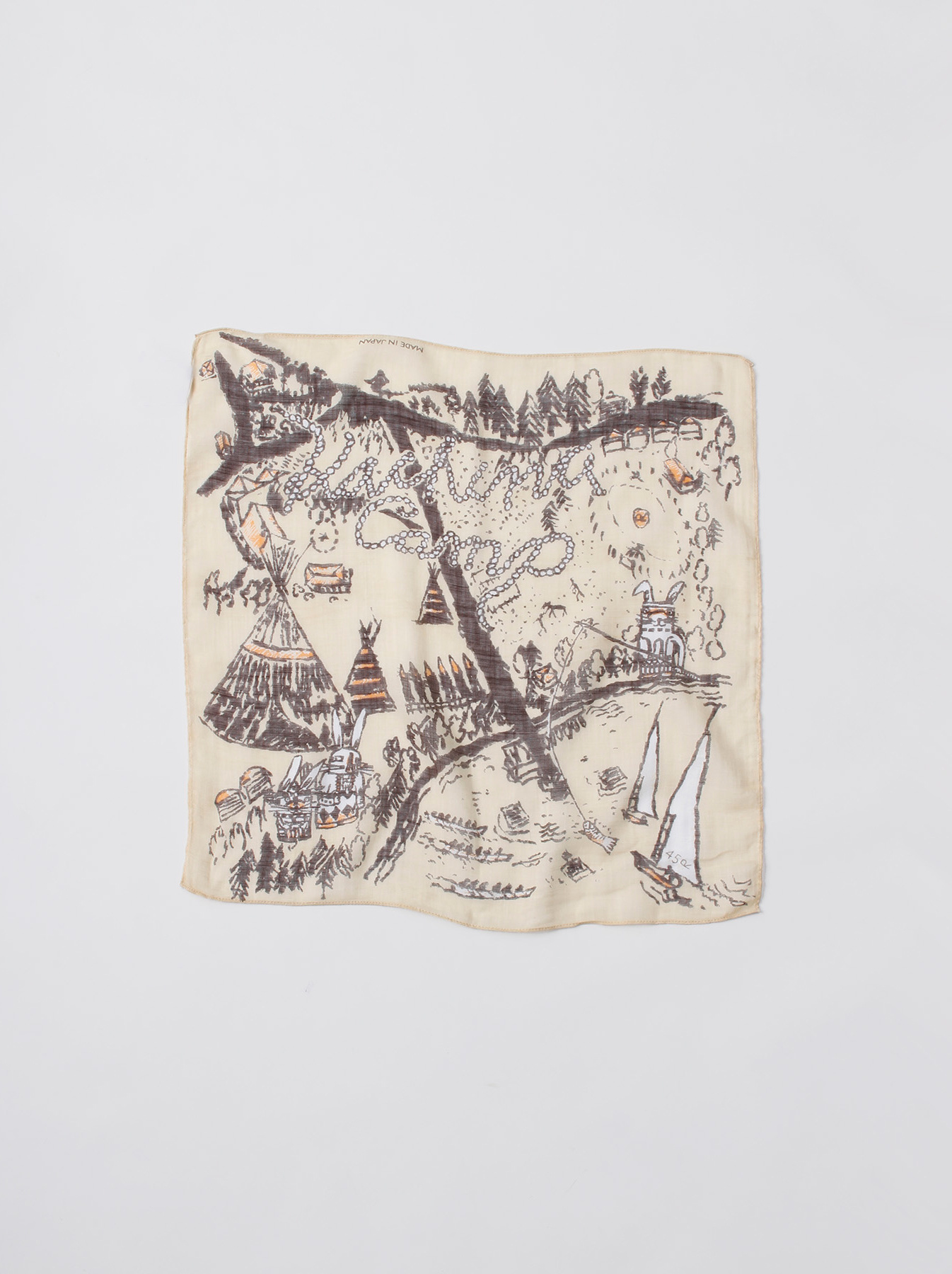 Vacation Picture Book Bandana-1