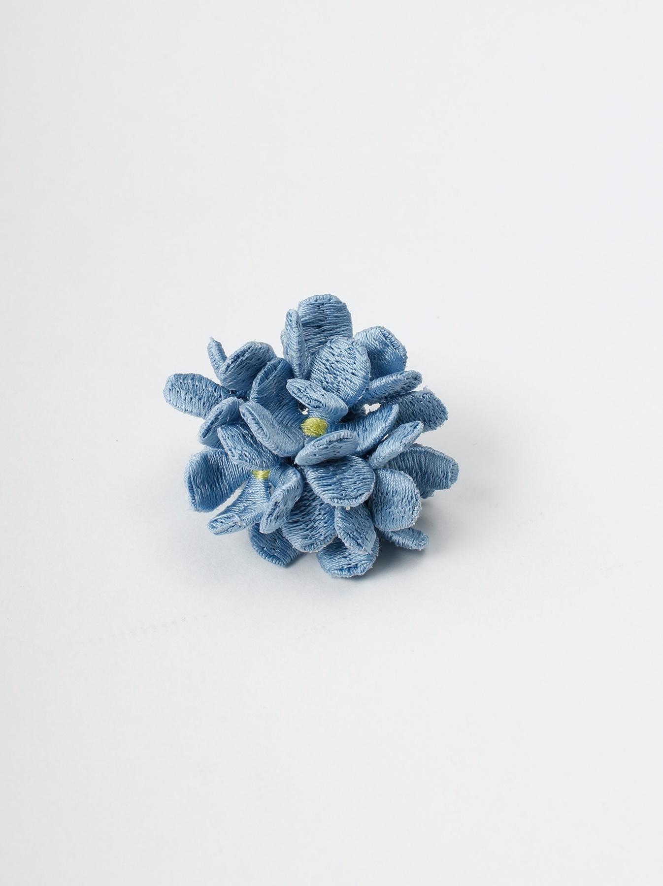 WH Silk Flower Bouquet Earrings-5