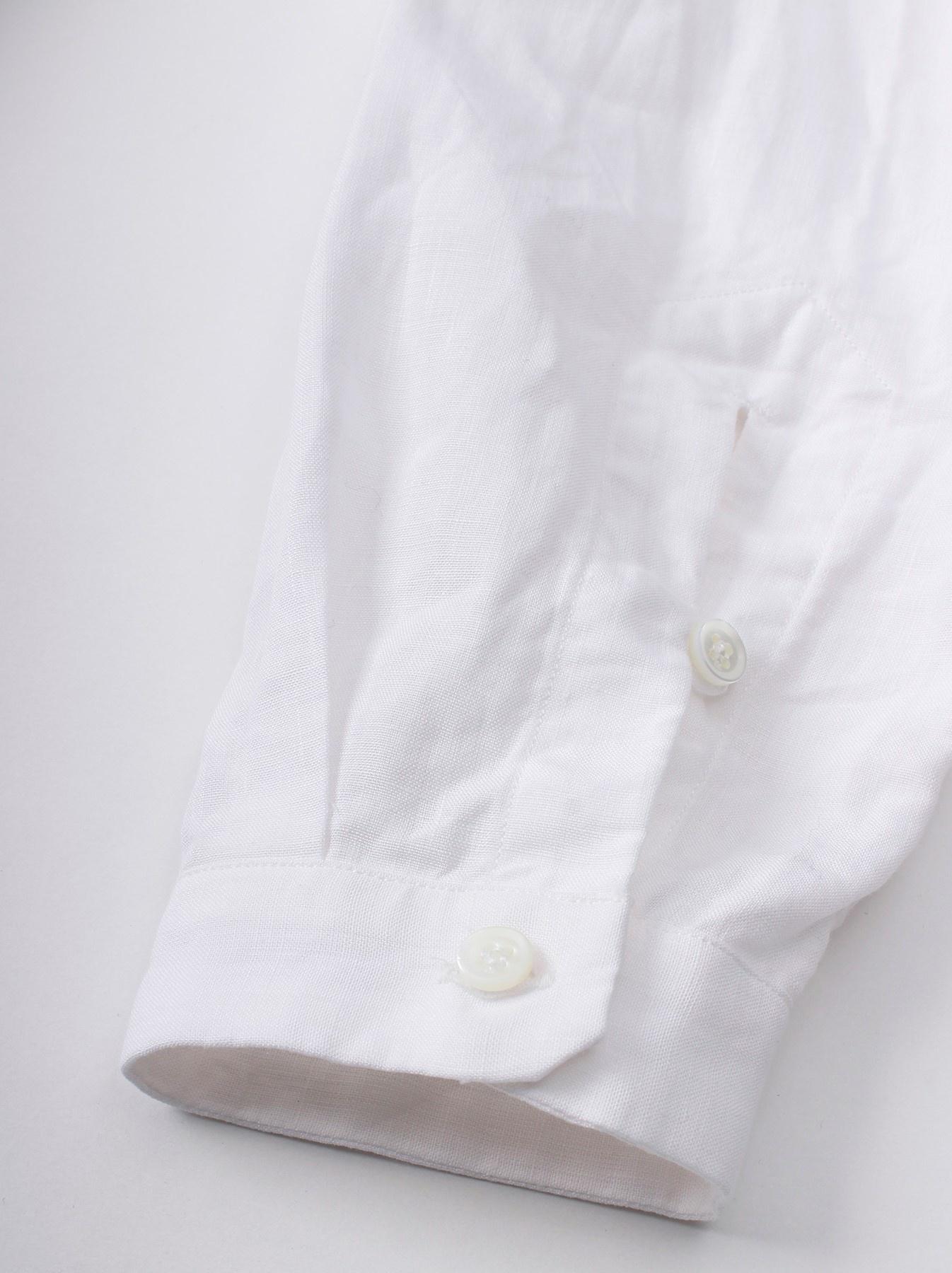WH Piece-dyed Linen 908 Safari Shirt-3