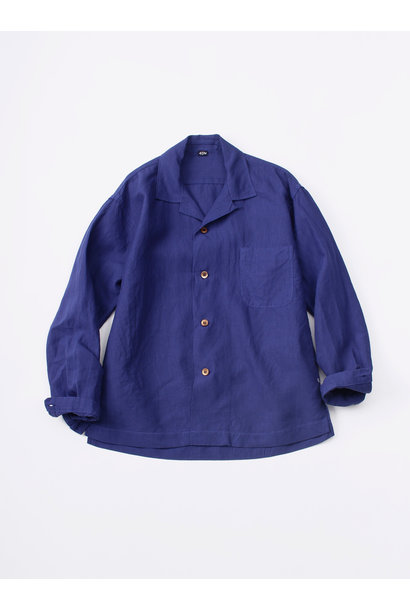 WH Piece-dyed Linen 908 Safari Shirt
