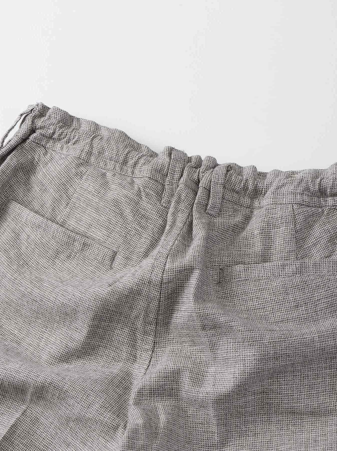 WH Cotton Tweed 908 Easy Slacks-7