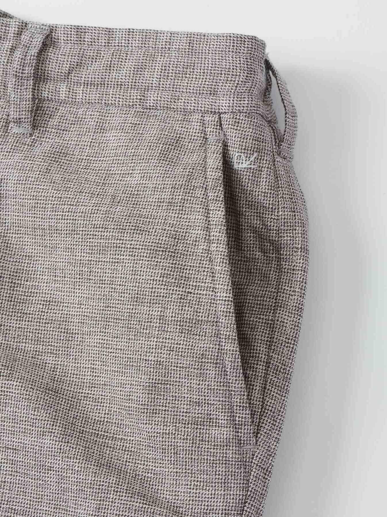 WH Cotton Tweed 908 Easy Slacks-8