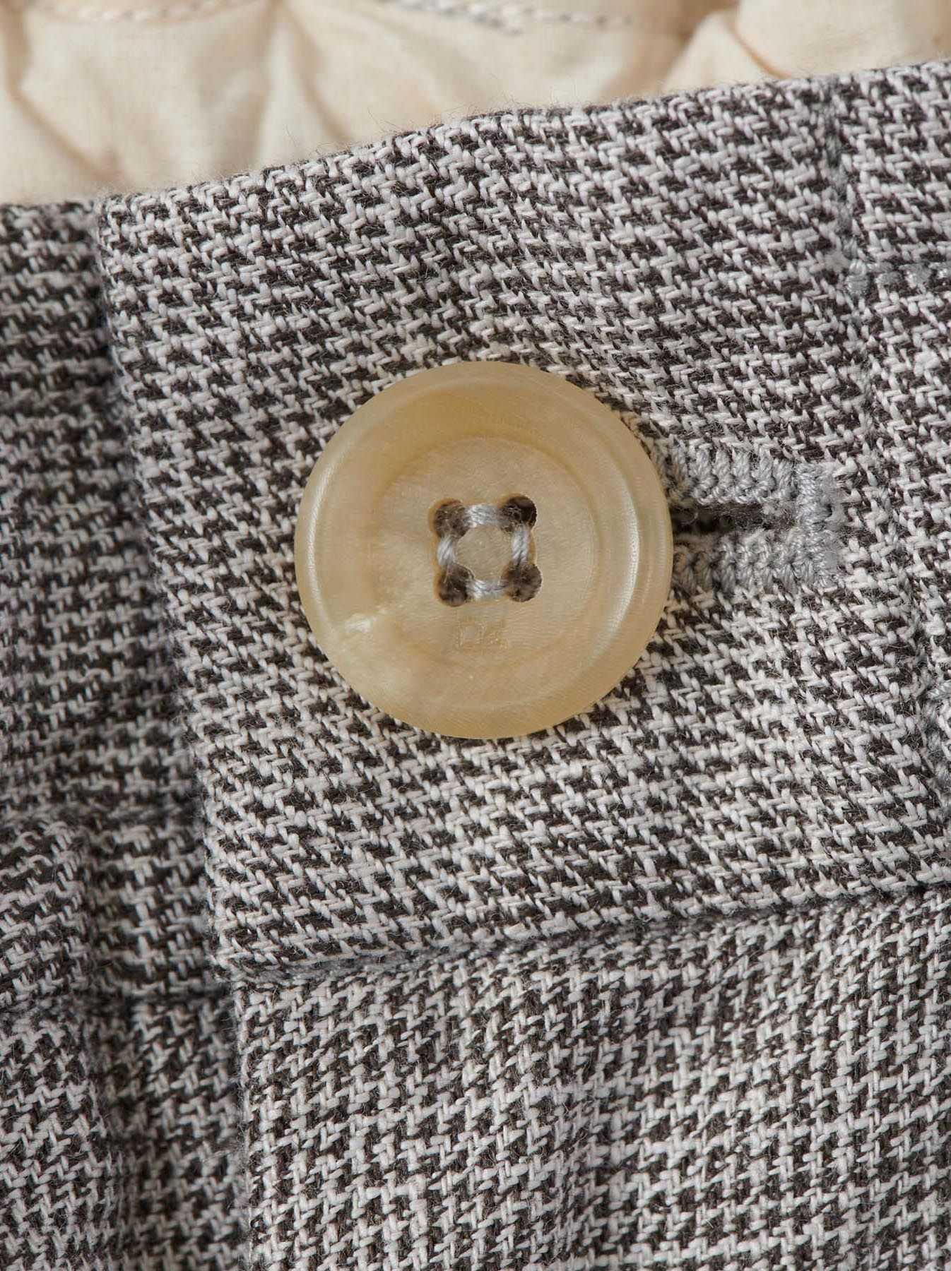 WH Cotton Tweed 908 Easy Slacks-9