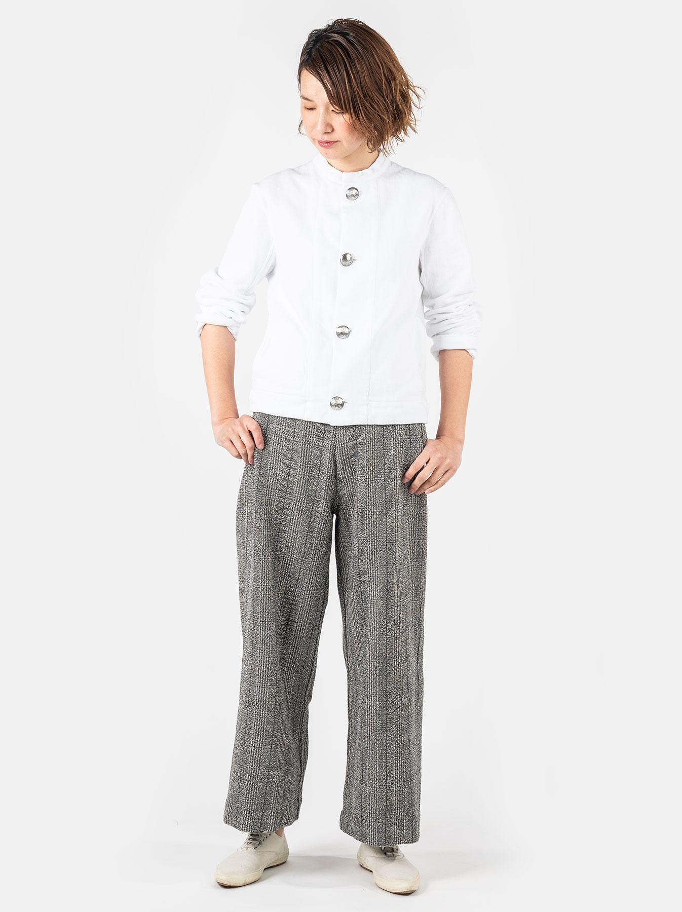 WH Mokumoku Tweed 908 Pants-2