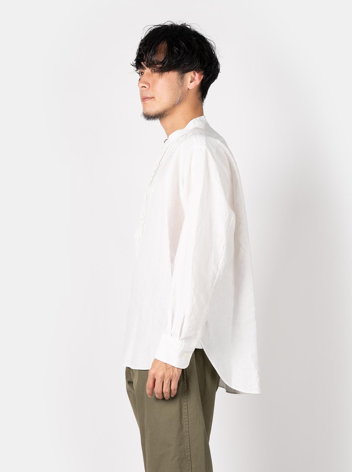 WH Linen Pin-tuck 908 Shirt-4