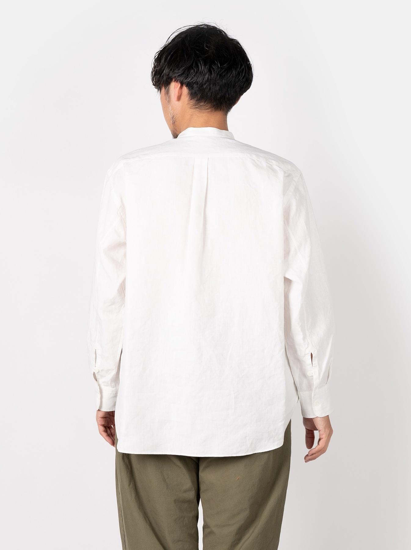 WH Linen Pin-tuck 908 Shirt-5