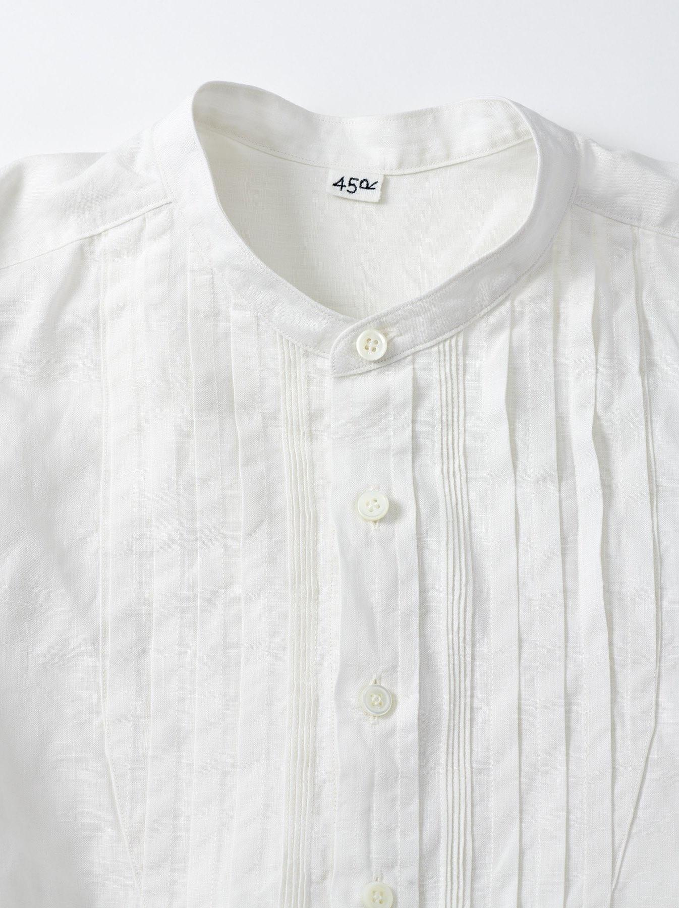 WH Linen Pin-tuck 908 Shirt-10