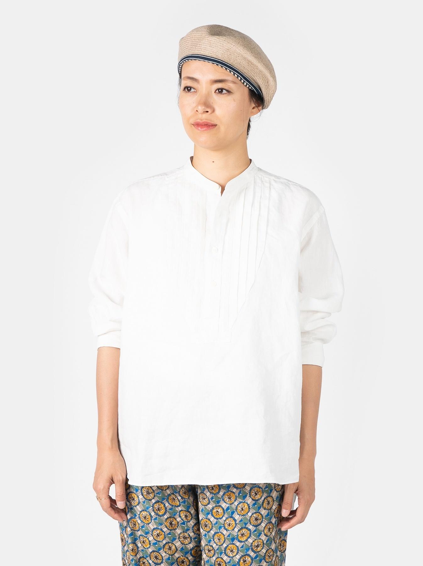 WH Linen Pin-tuck 908 Shirt-6