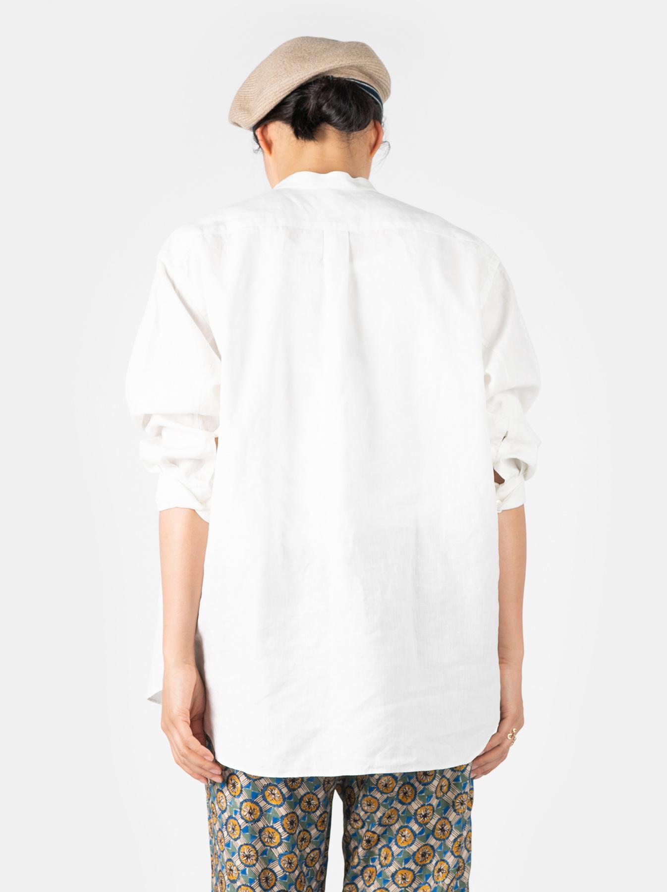WH Linen Pin-tuck 908 Shirt-8