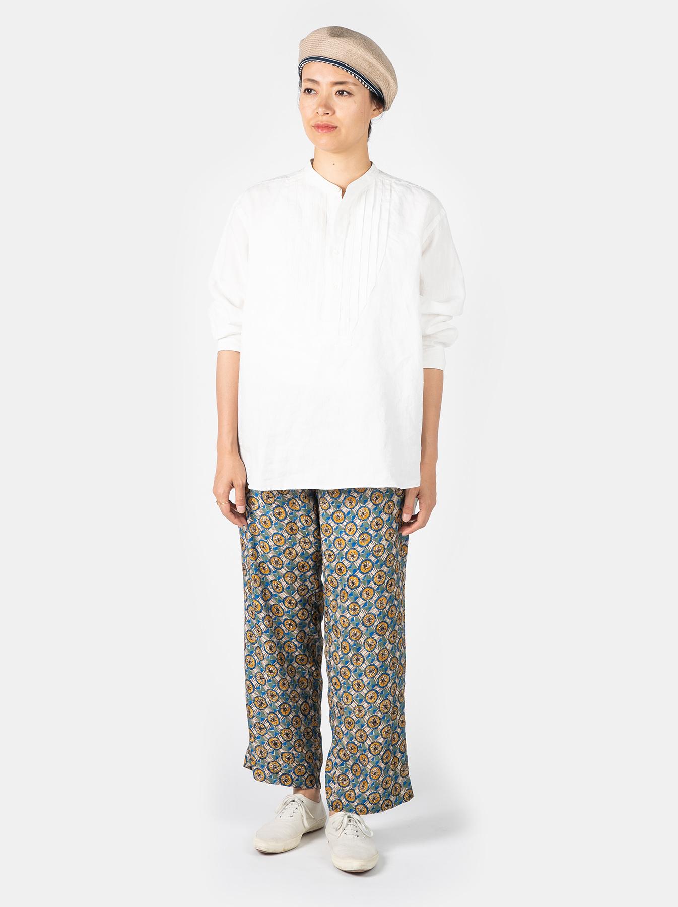 WH Linen Pin-tuck 908 Shirt-9