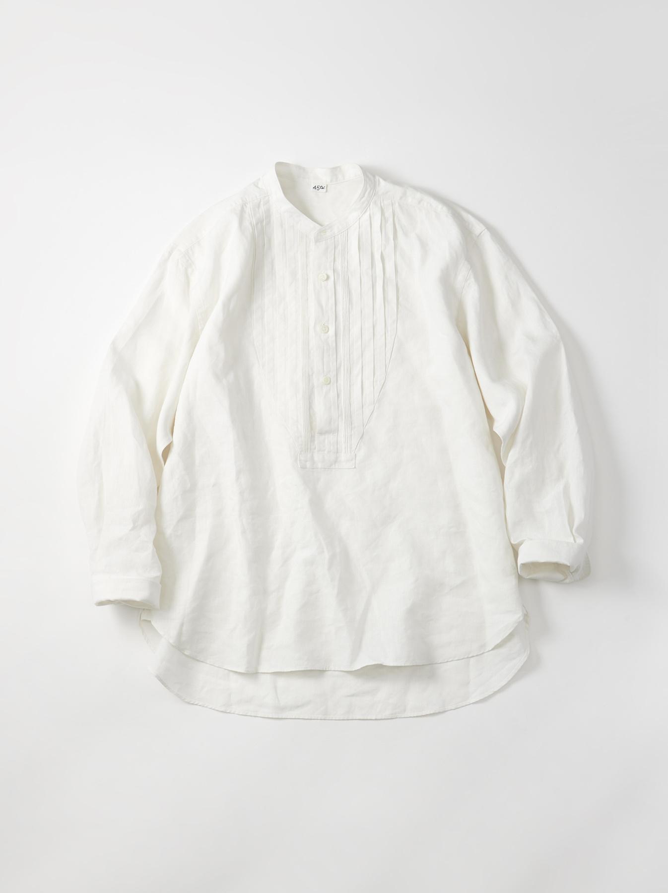 WH Linen Pin-tuck 908 Shirt-1
