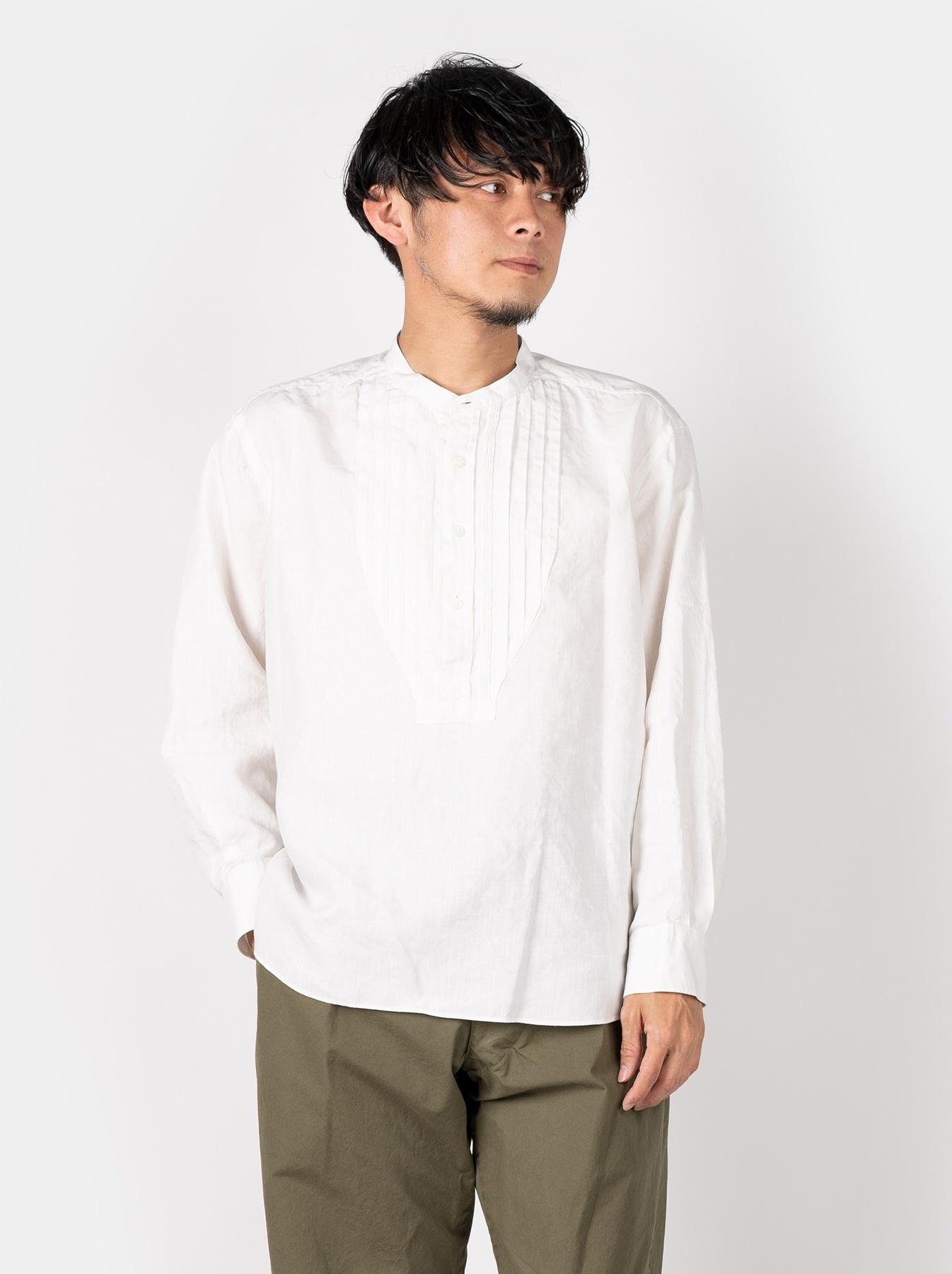 WH Linen Pin-tuck 908 Shirt-3