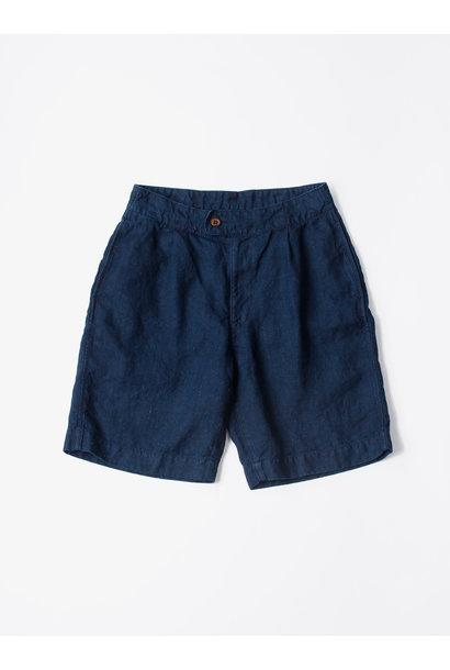 WH Indigo Doek Majotae Umiiloha 908 Short Pants
