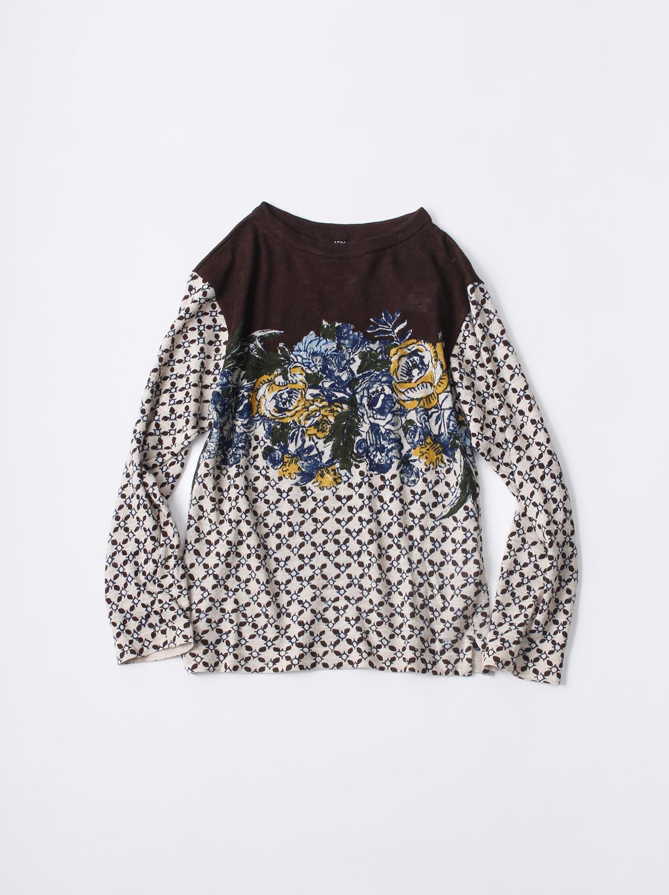 WH Sarasa Knit T-shirt-2