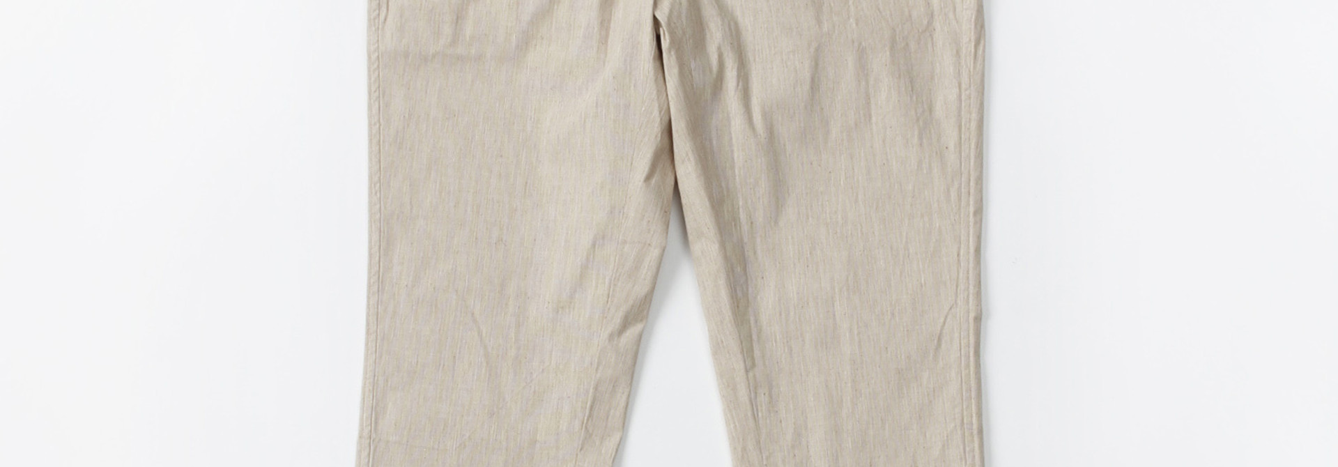 WH Cotton Linen Hakeme Stretch Pants