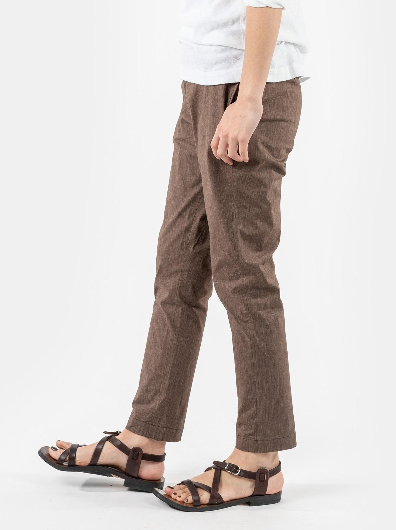 WH Cotton Linen Hakeme Stretch Pants-4