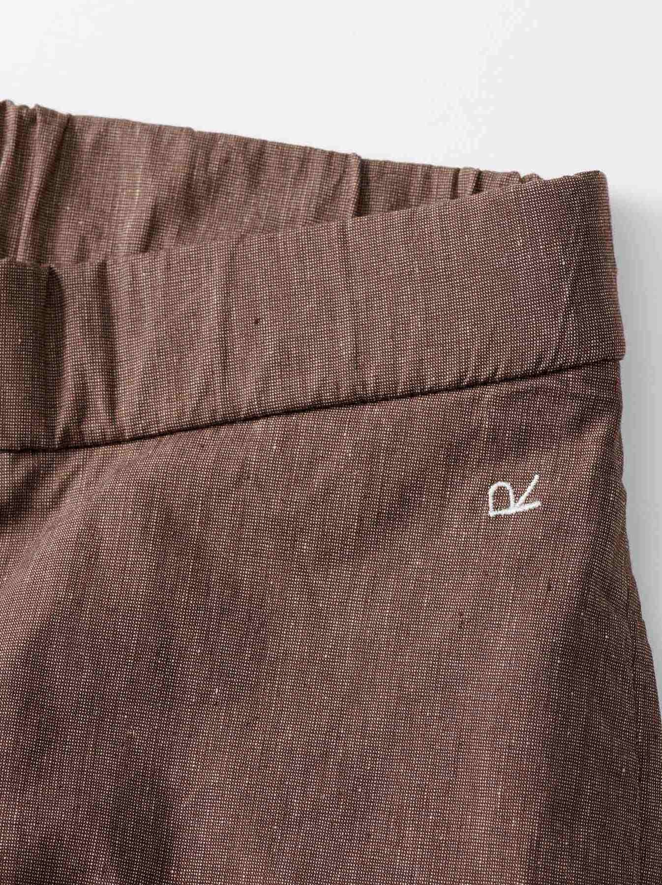 WH Cotton Linen Hakeme Stretch Pants-8
