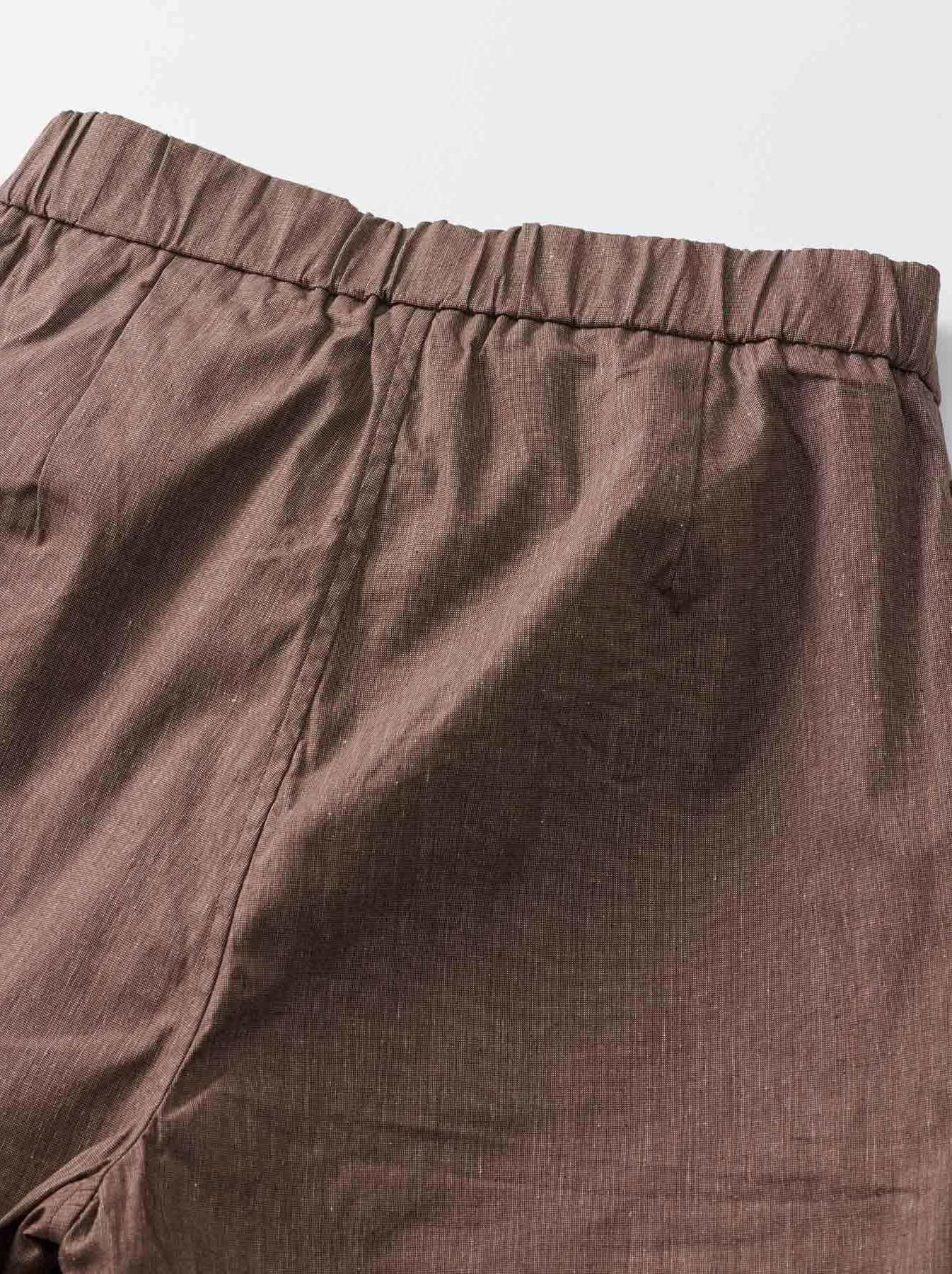 WH Cotton Linen Hakeme Stretch Pants-9
