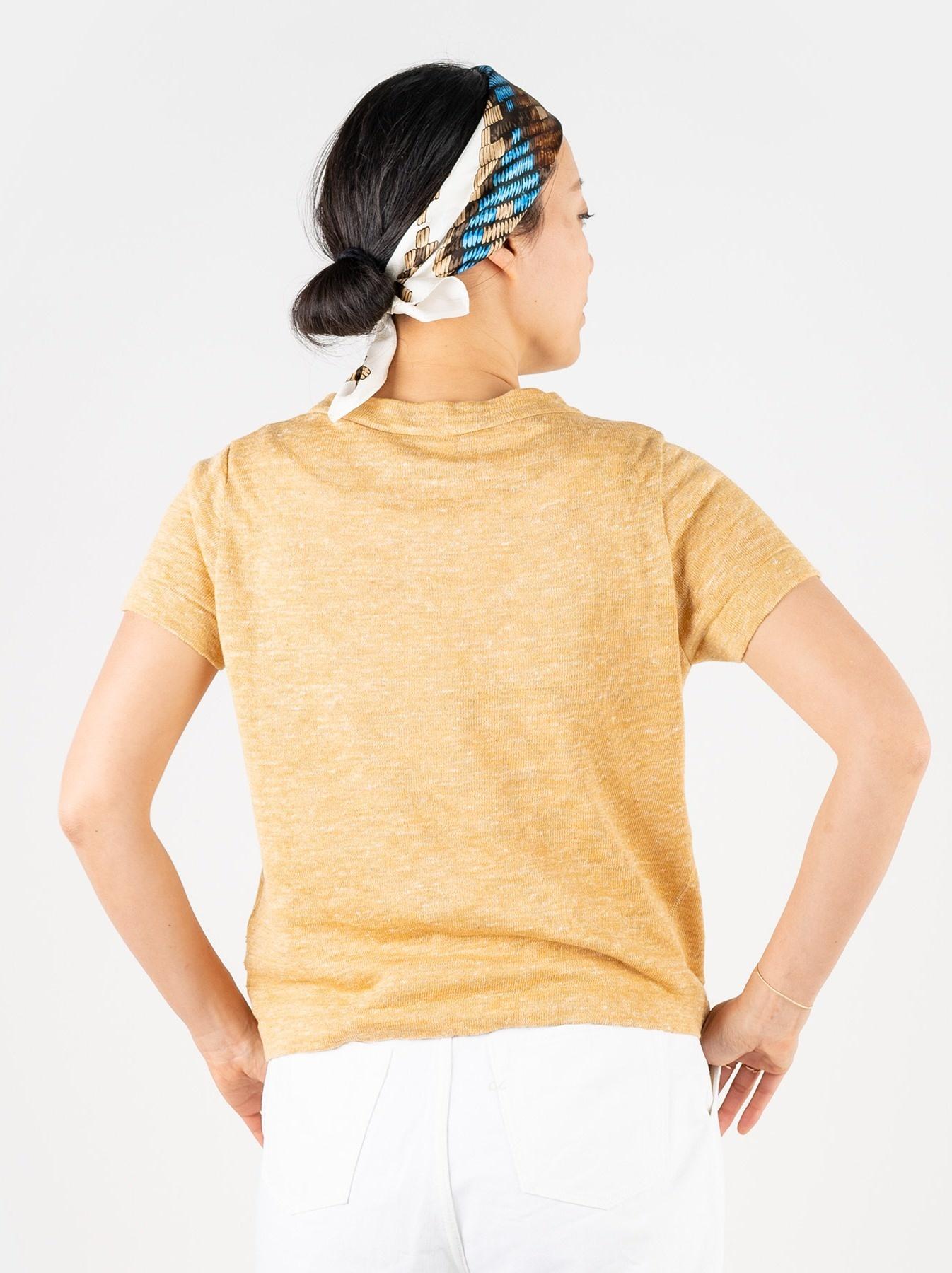 WH Mont Saint-Michel Super Gauze T-shirt-5