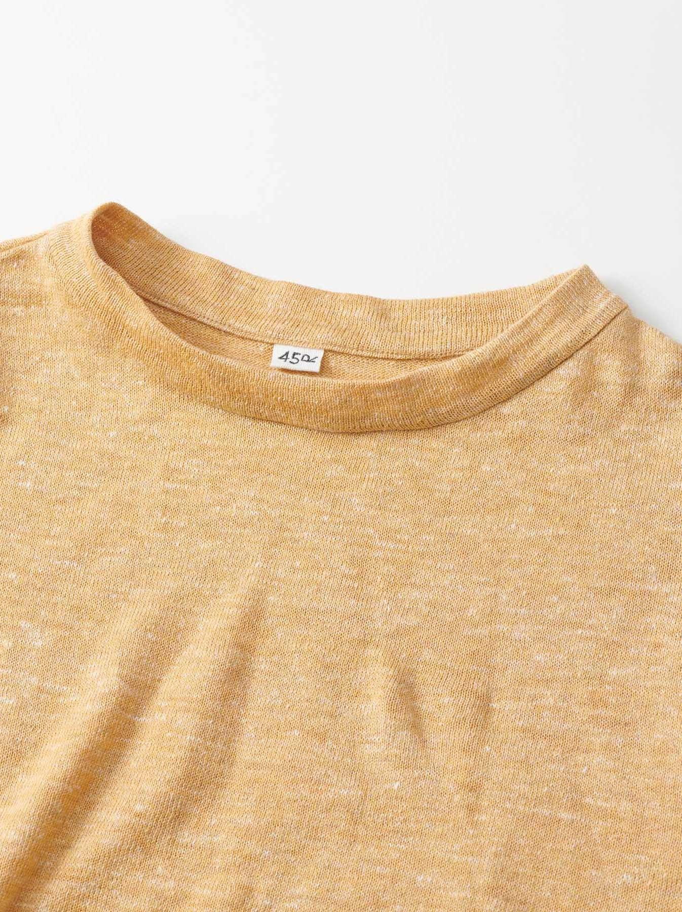 WH Mont Saint-Michel Super Gauze T-shirt-6