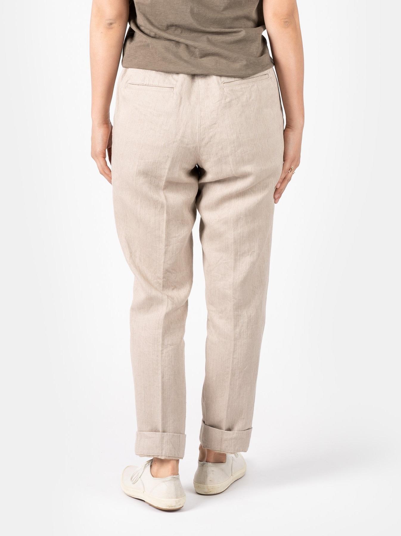 WH Linen Easy Slacks-6