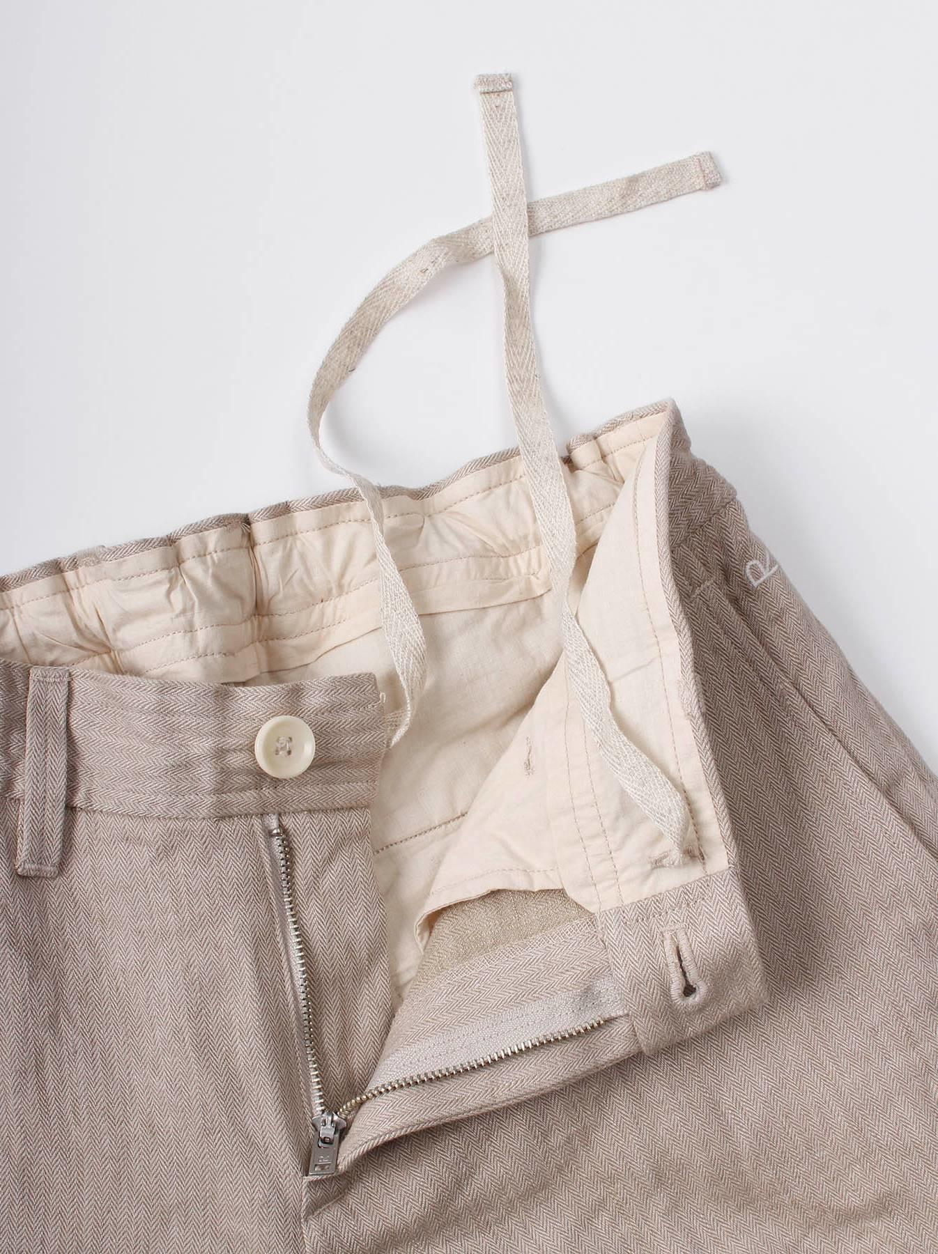WH Linen Easy Slacks-7