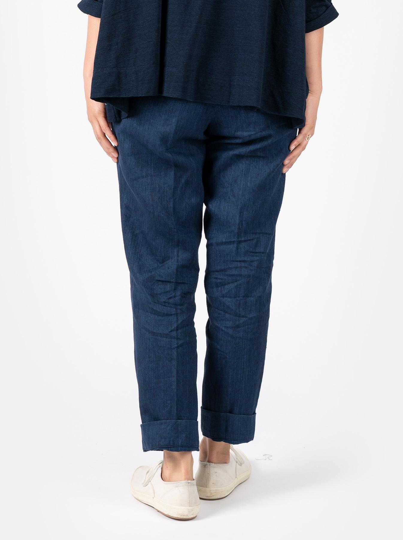 WH Linen Easy Slacks-5