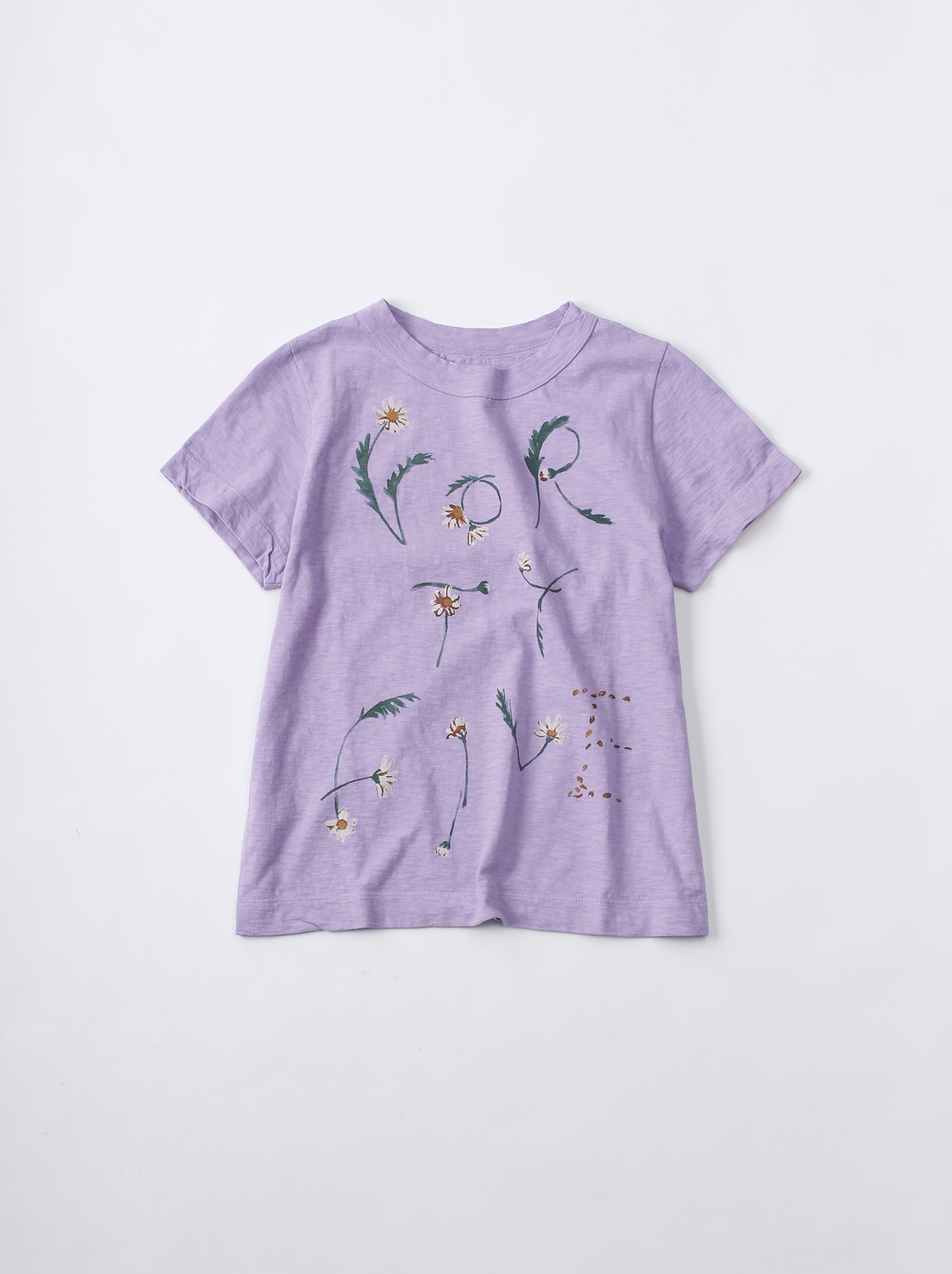 WH 45 Star T-shirt (Flower Logo)-1