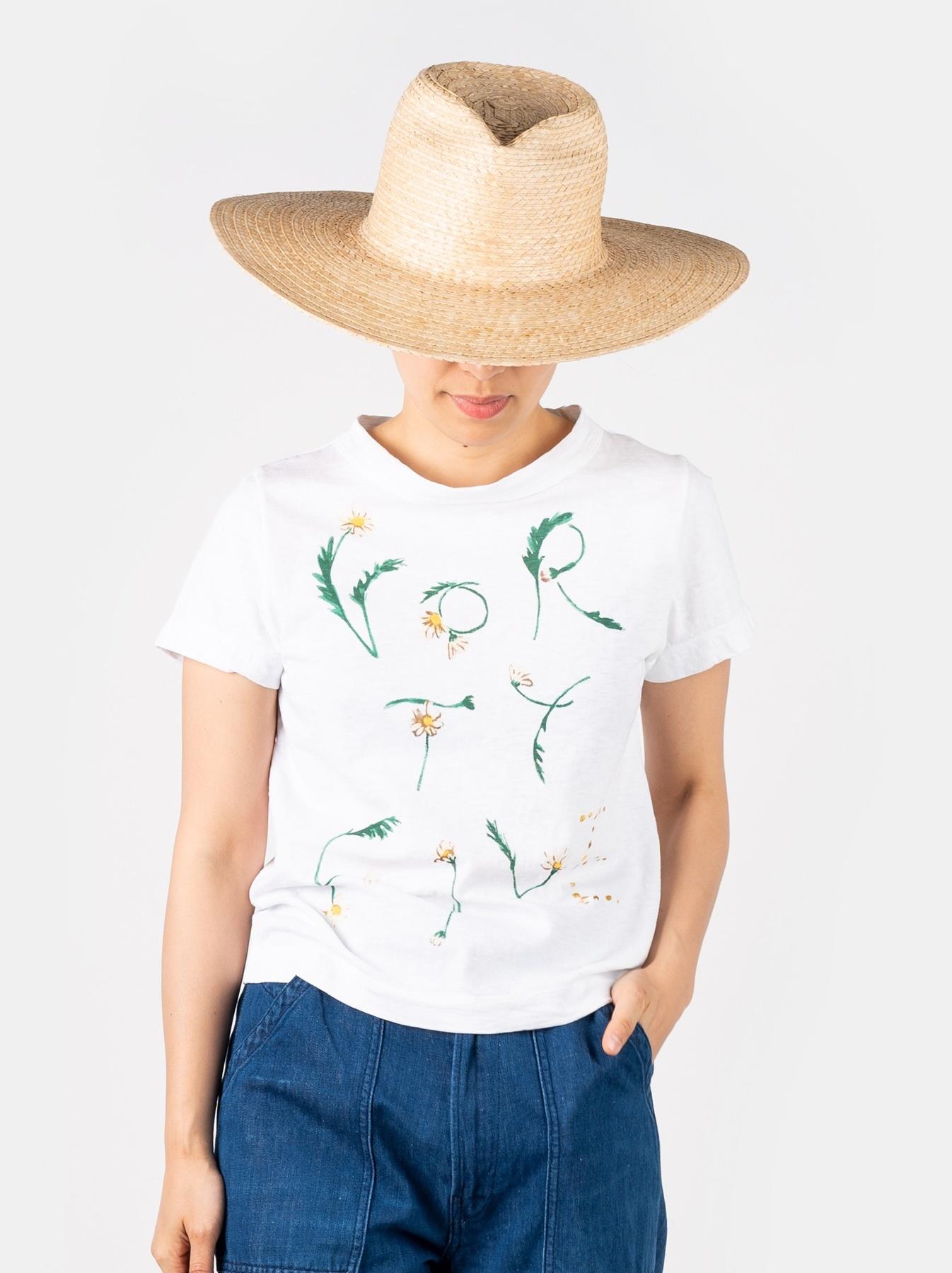 WH 45 Star T-shirt (Flower Logo)-3