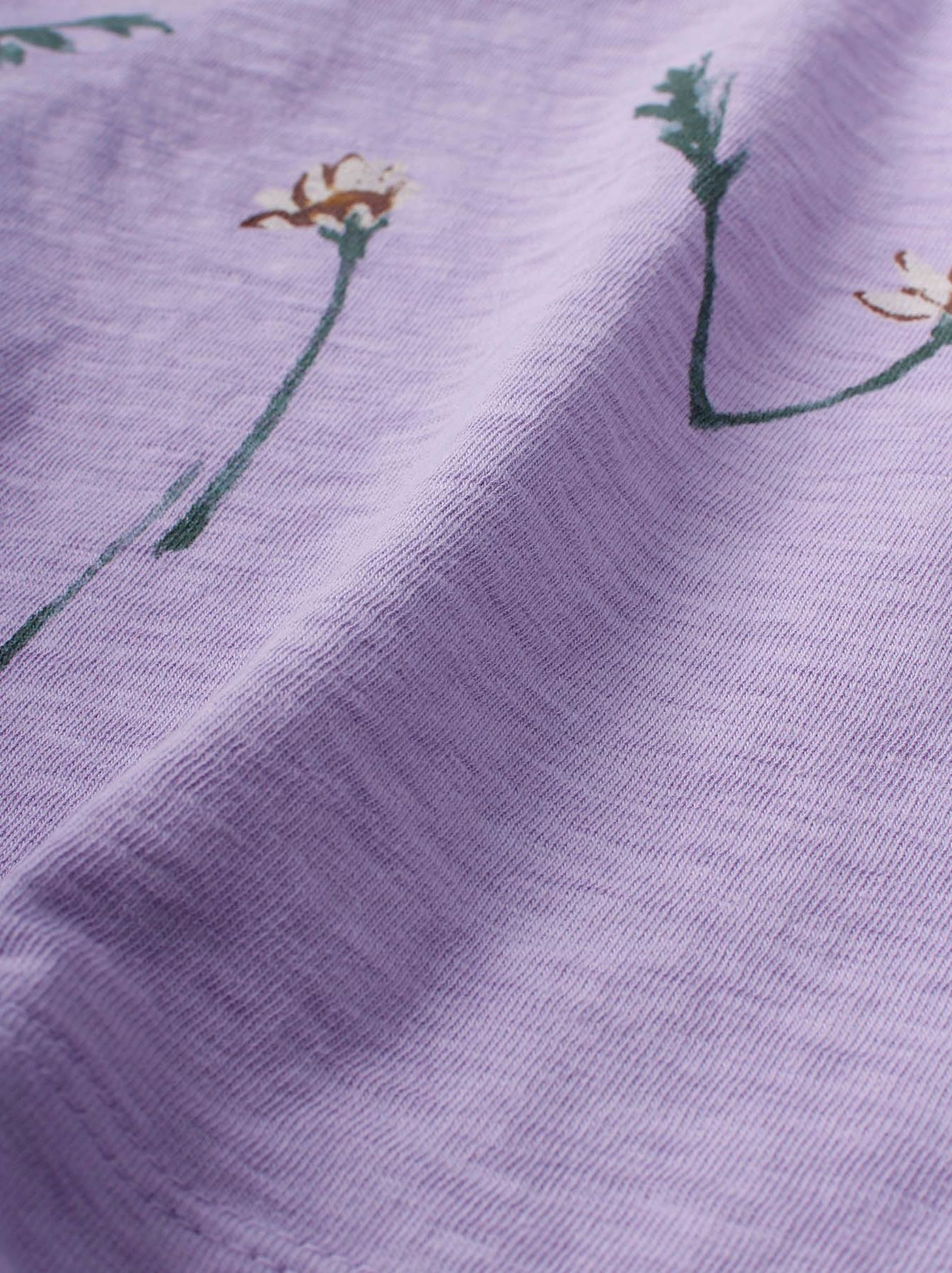 WH 45 Star T-shirt (Flower Logo)-9