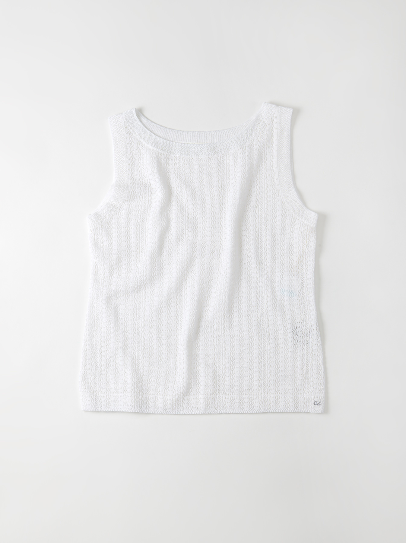 WH Gima Knit Lace Sleeveless Top-1