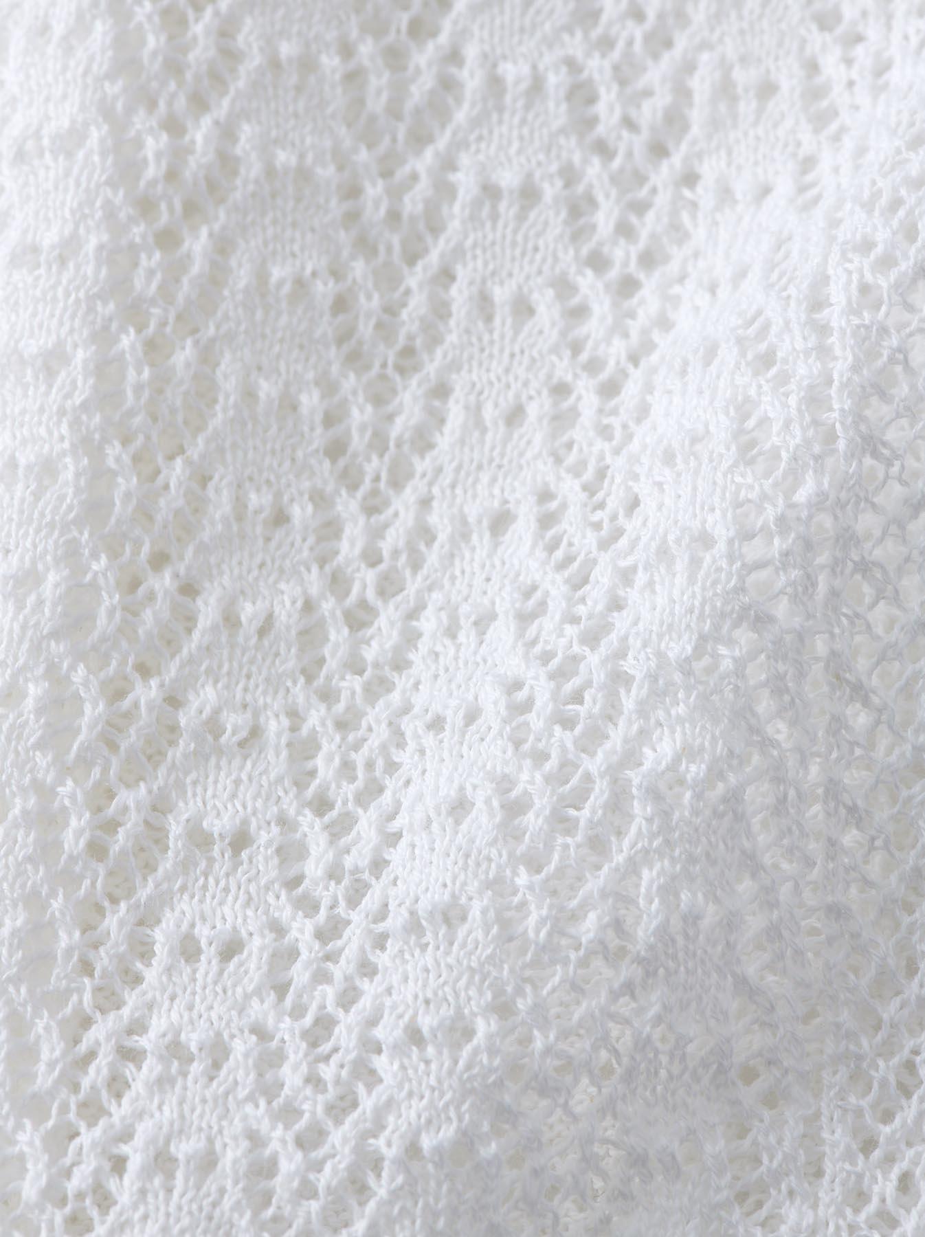 WH Gima Knit Lace Sleeveless Top-8