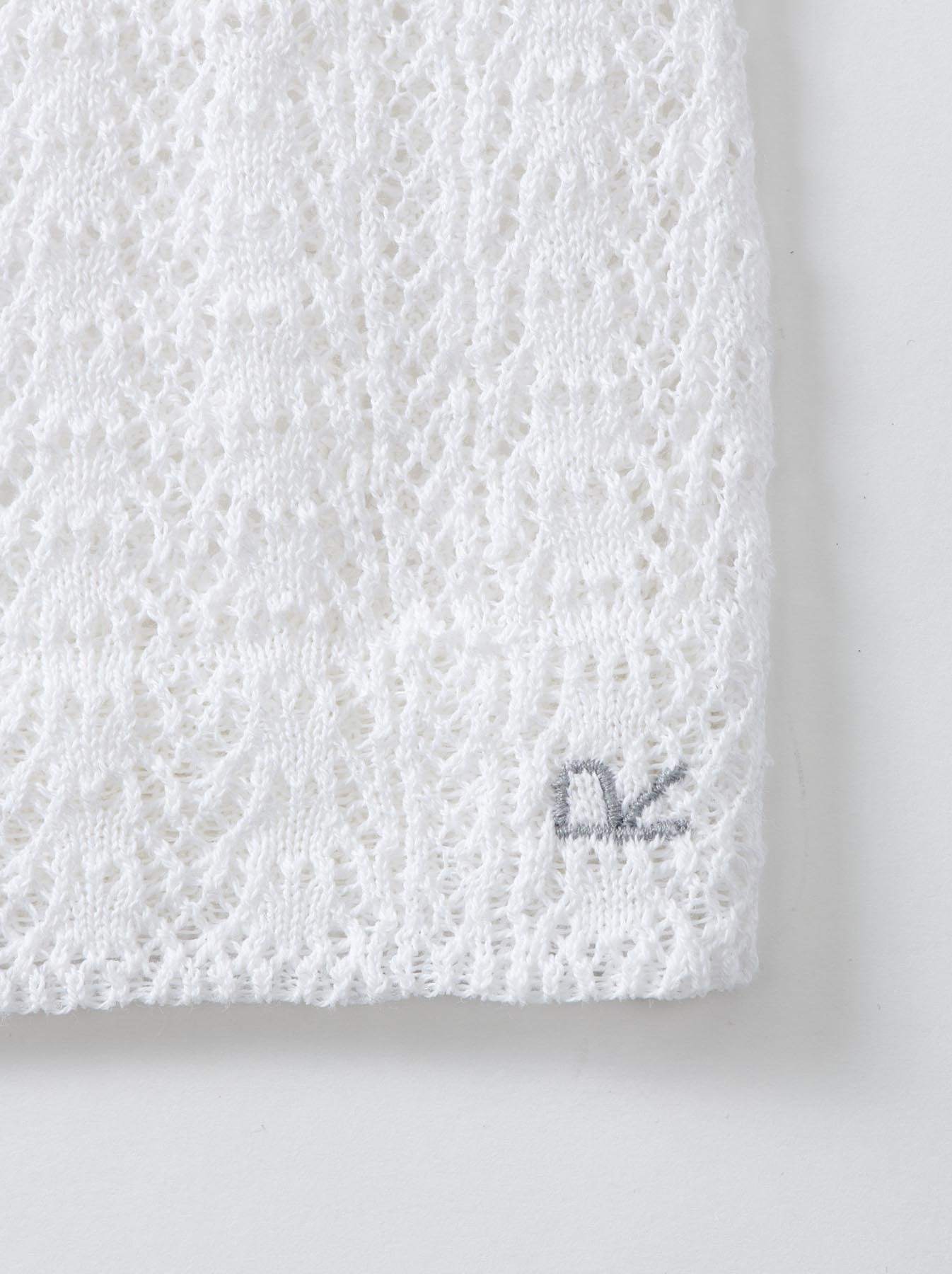 WH Gima Knit Lace Sleeveless Top-7
