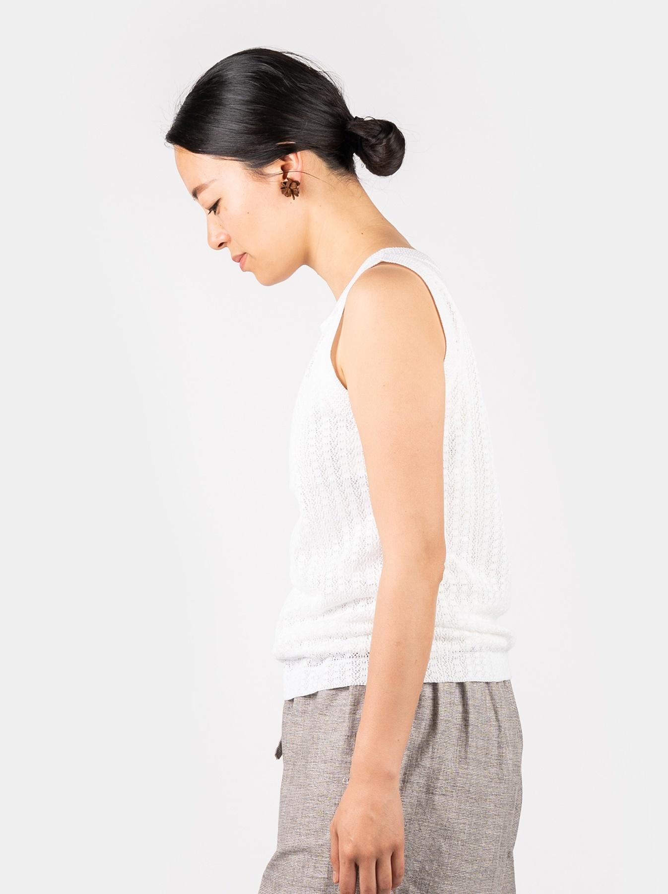 WH Gima Knit Lace Sleeveless Top-4