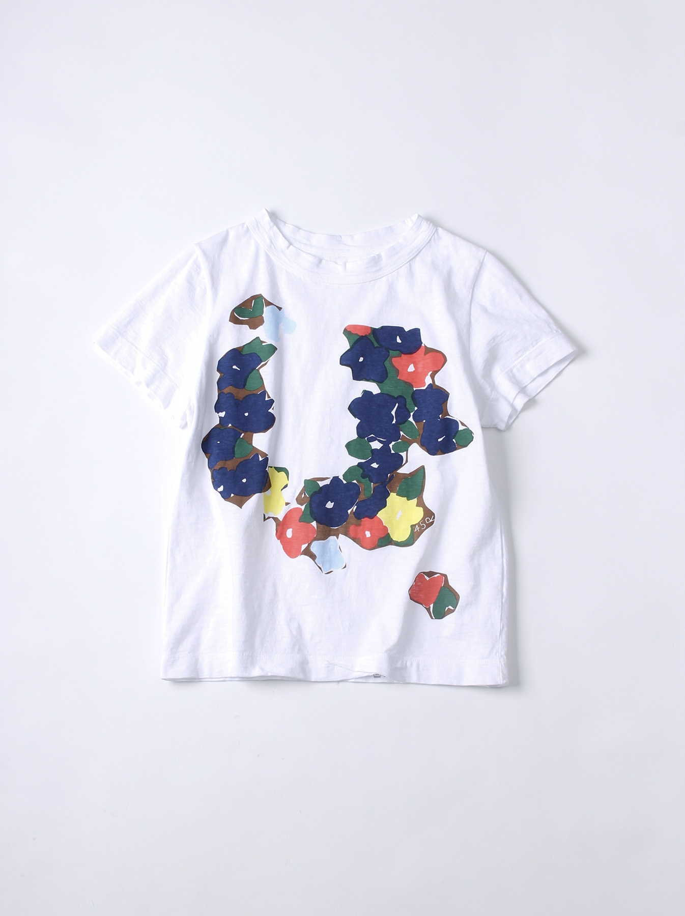 WH 45 Star T-shirt (Flower)-1