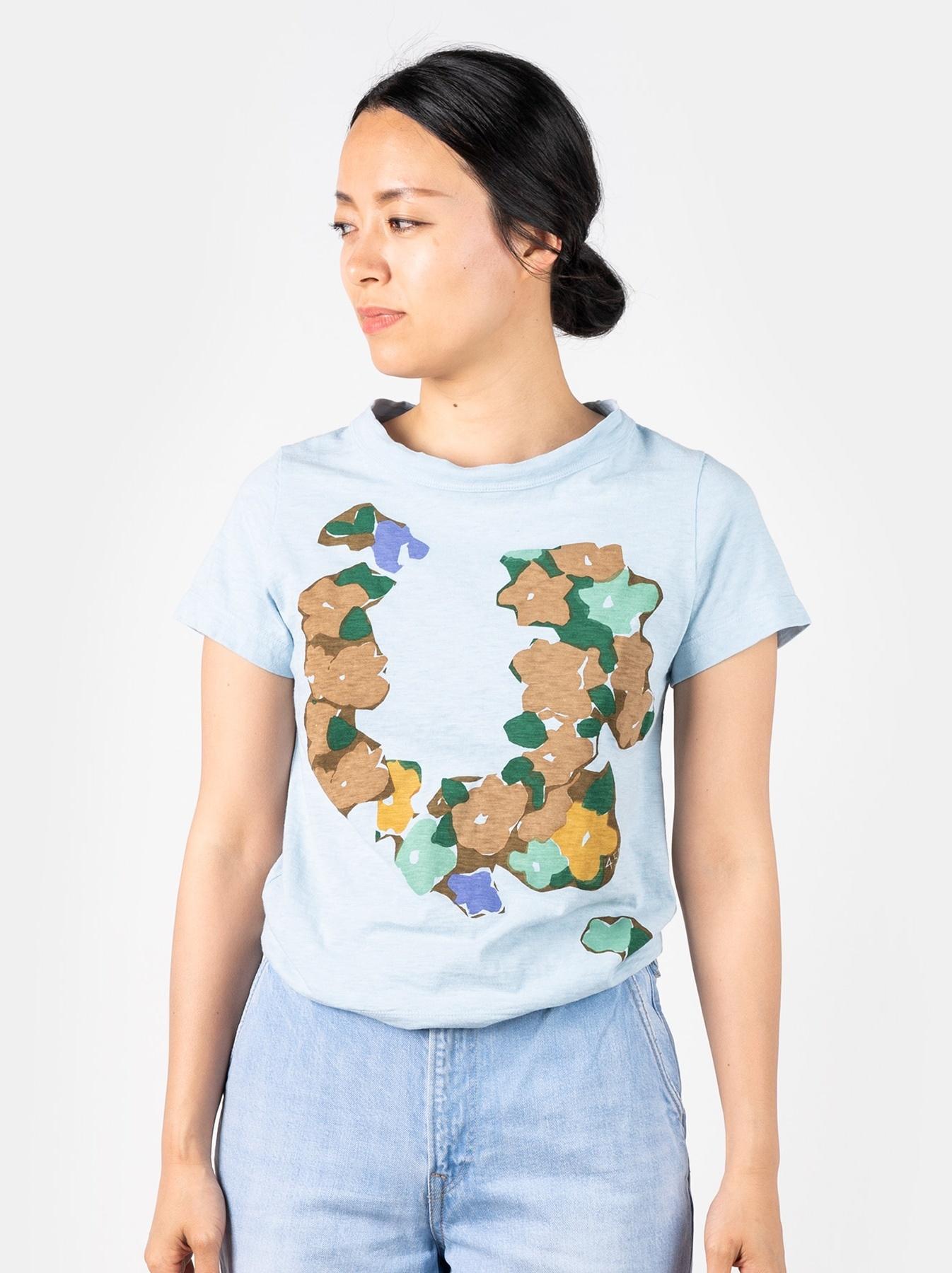 WH 45 Star T-shirt (Flower)-3